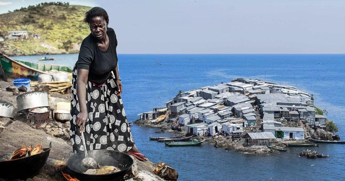 Фото «Яблоку негде упасть!». Как на крошечном острове уживается более 500 жителей