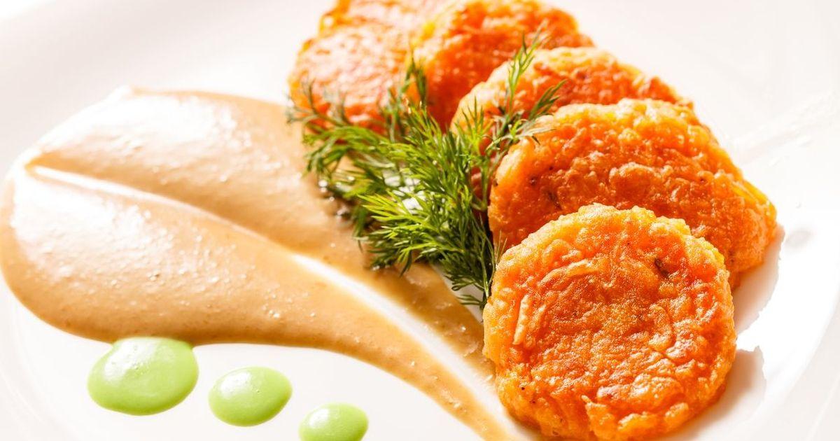 Фото Аппетитные морковные котлеты