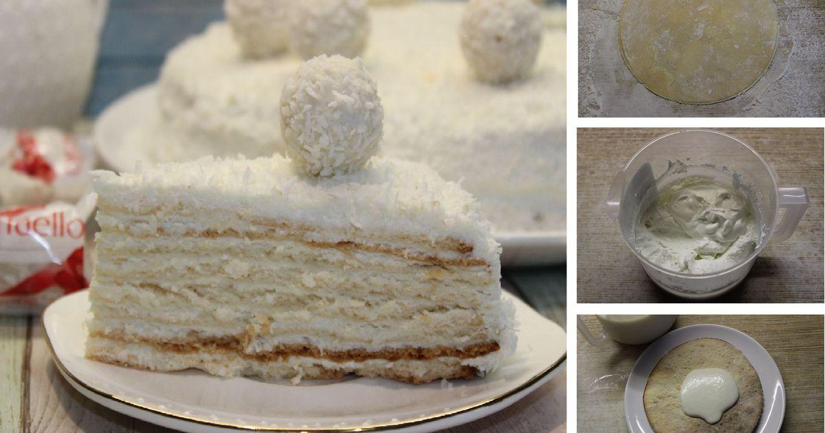 Фото Райский кокосовый торт