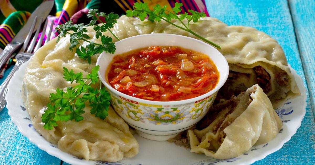 Фото Узбекский ханум с острым соусом
