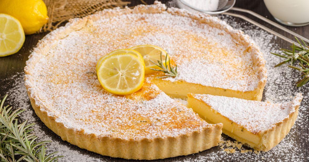 Фото Лимонный тарт от Джейми Оливера