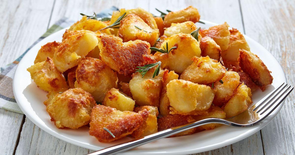 Фото Запеченный картофель в горчичном соусе
