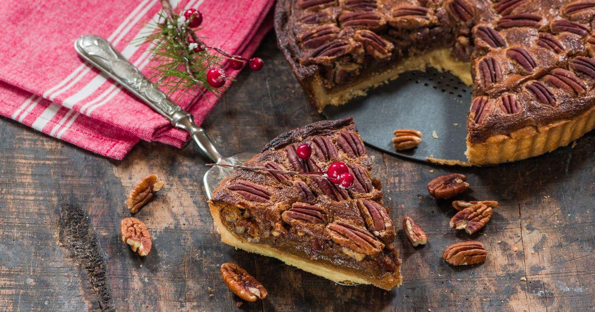Фото Американский пекановый пирог
