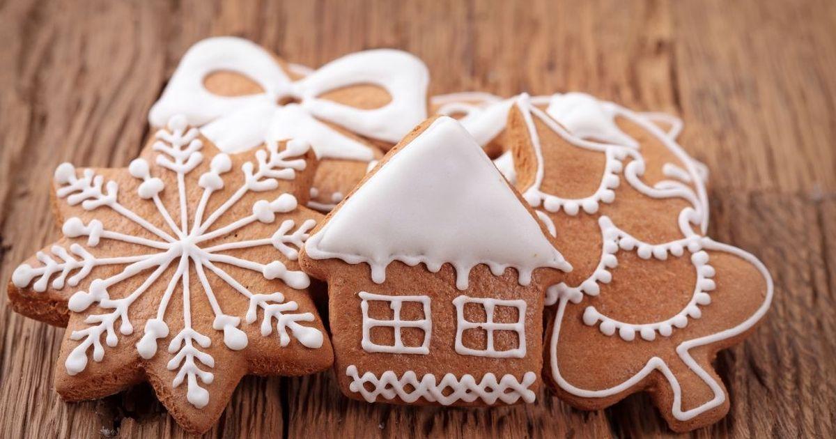 Фото Домашнее имбирное печенье