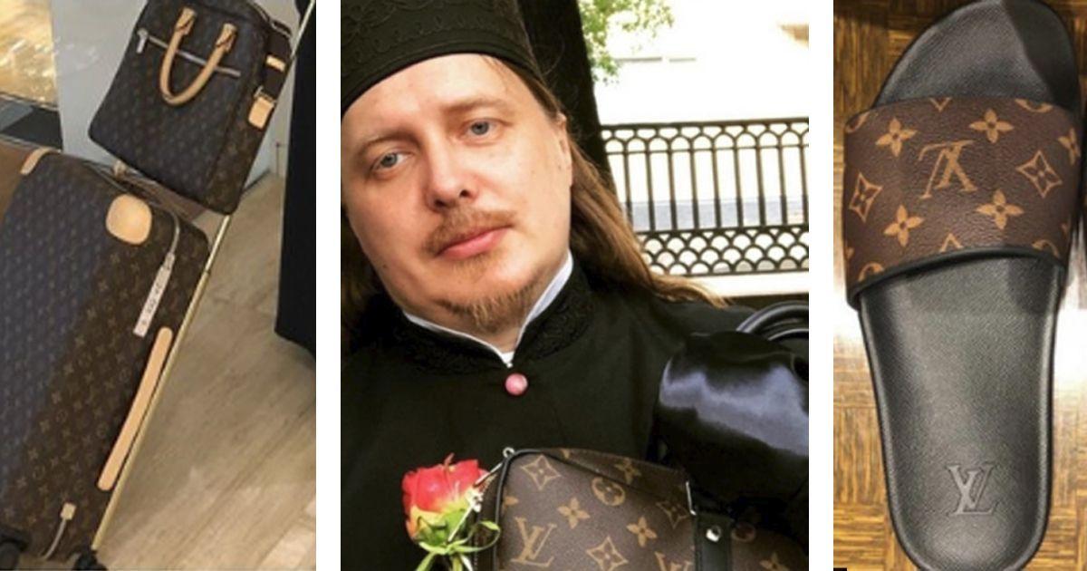 Фото Священник и его Instagram с брендовой одеждой за сотни тысяч