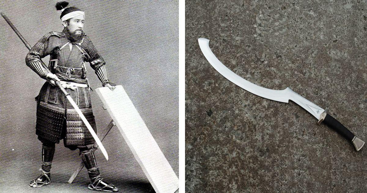 Фото Нагината и хопеш. Холодное оружие, навсегда ушедшее в прошлое