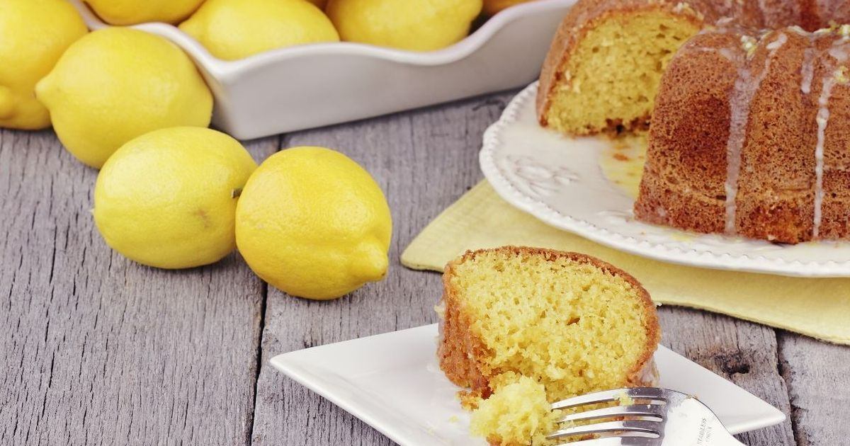 Фото Нежнейший лимонный кекс