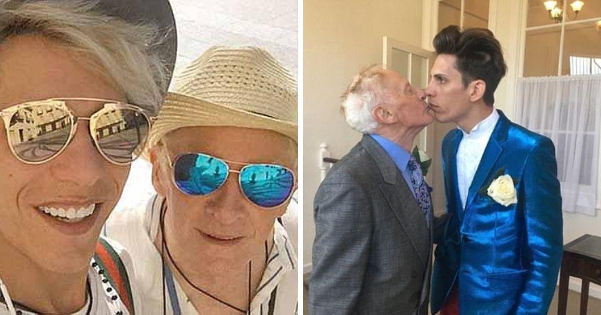 Фото 80-летний викарий бросил все и заключил брак с молодым румыном