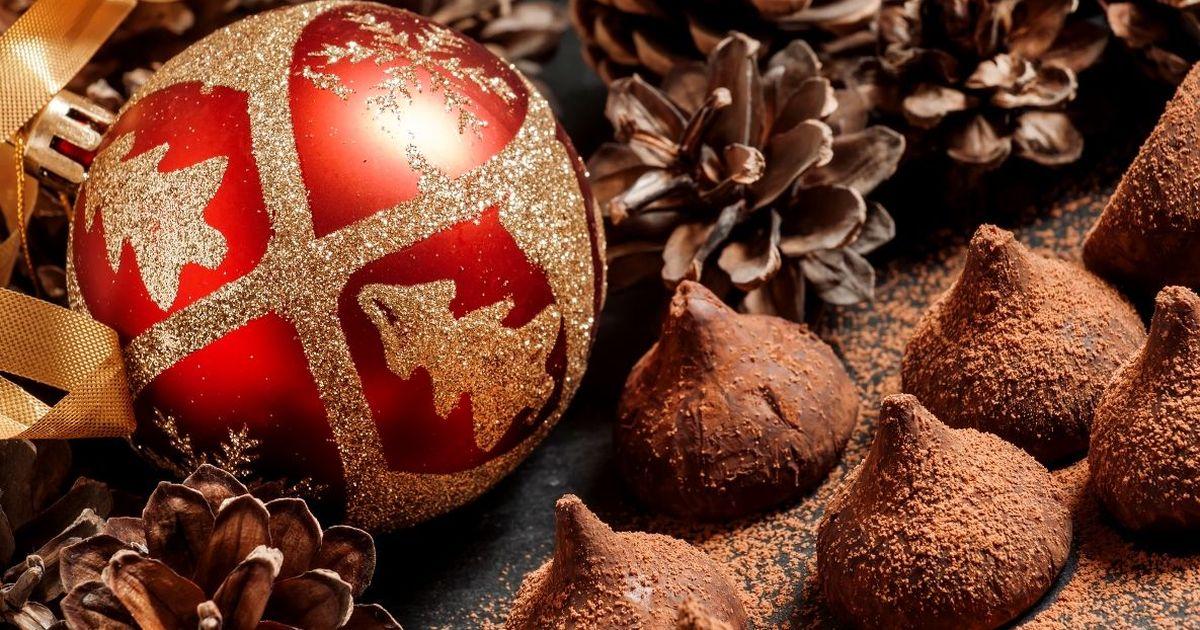 Фото Вкуснейшие шоколадные трюфели
