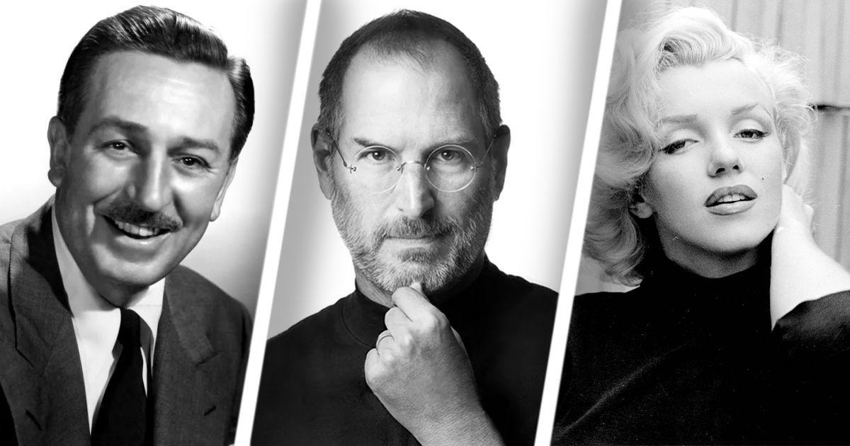 Фото Стив Джобс и Уолт Дисней: знаменитости, которых усыновили
