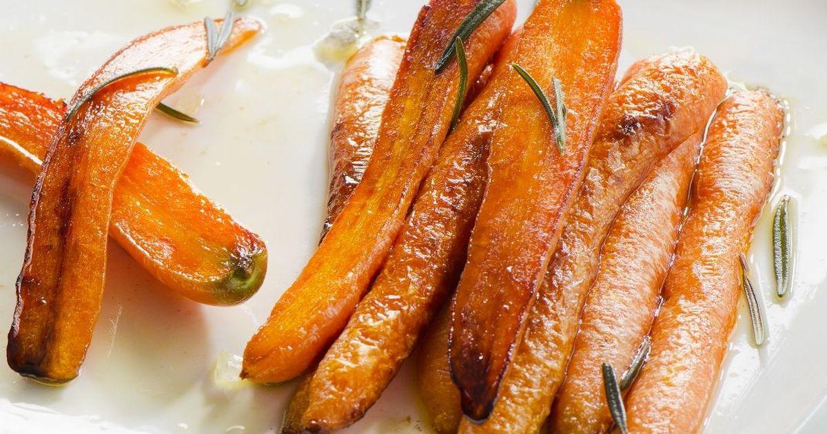 Фото Ароматная морковь, запеченная со специями