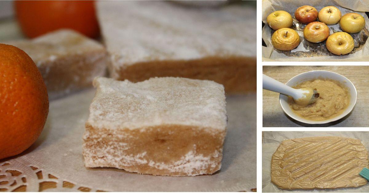 Фото Полезная яблочная пастила своими руками: пошаговый фото рецепт