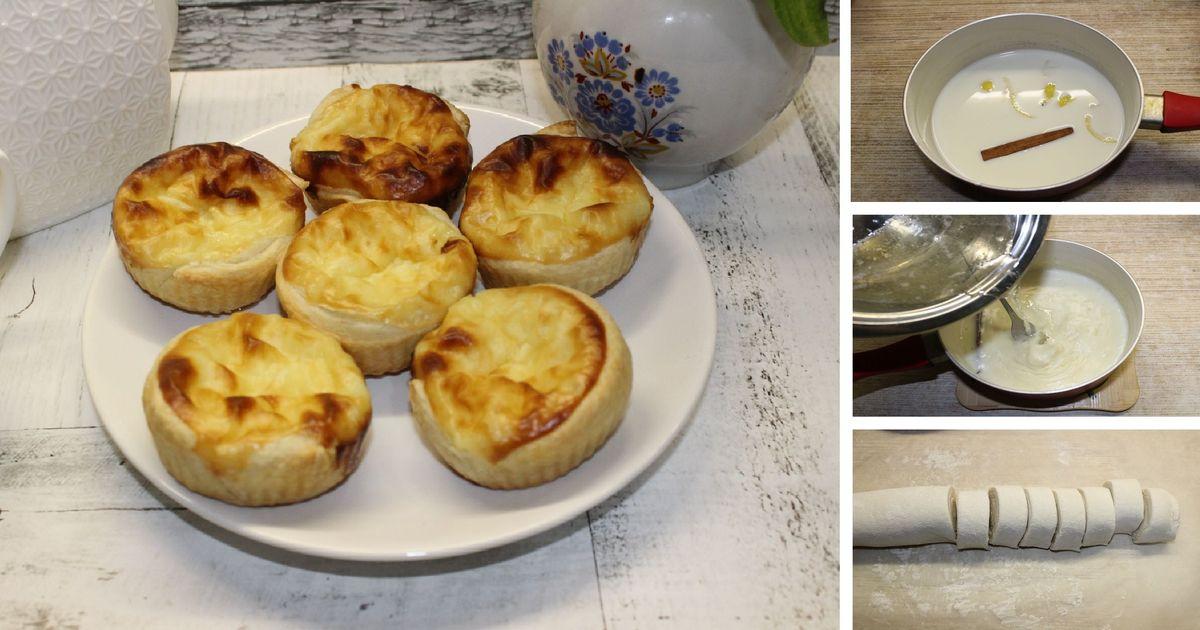 Фото Таинственное португальское пирожное