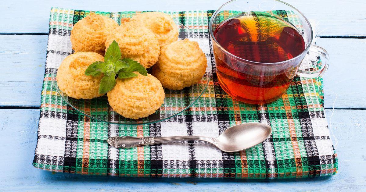 Фото Кокосовое печенье к чаю