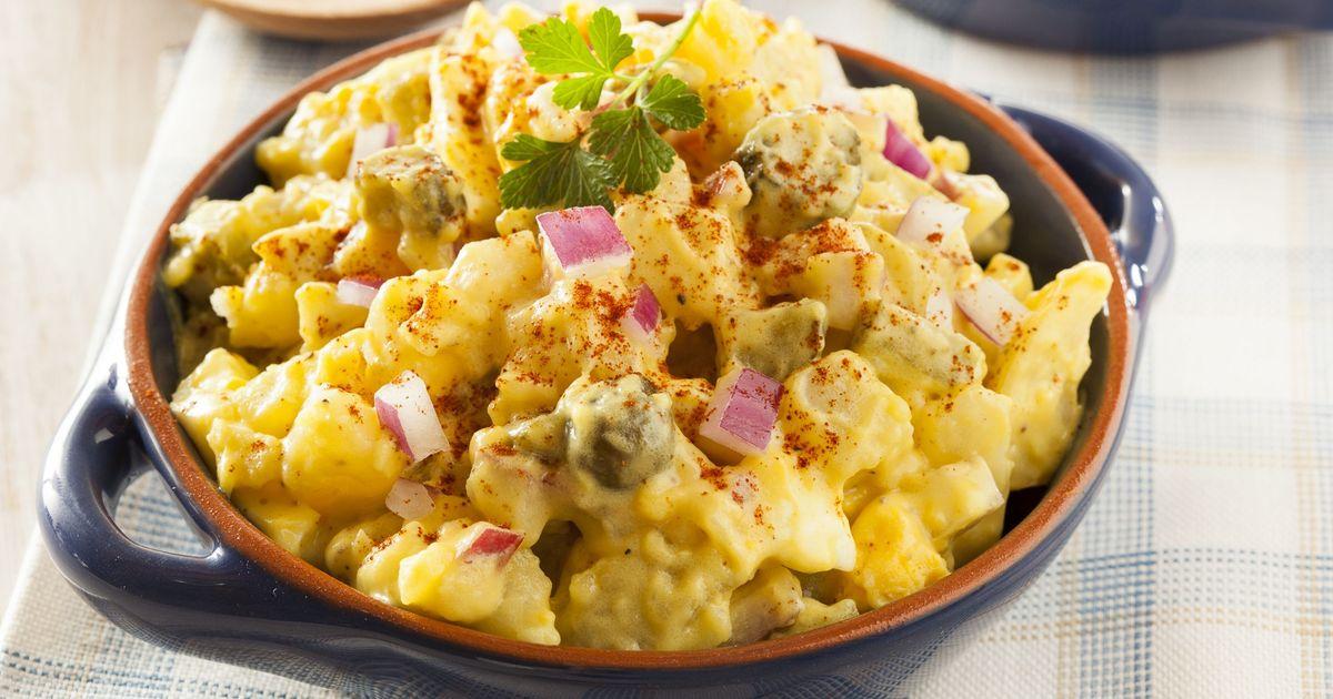 Фото Американский картофельный салат