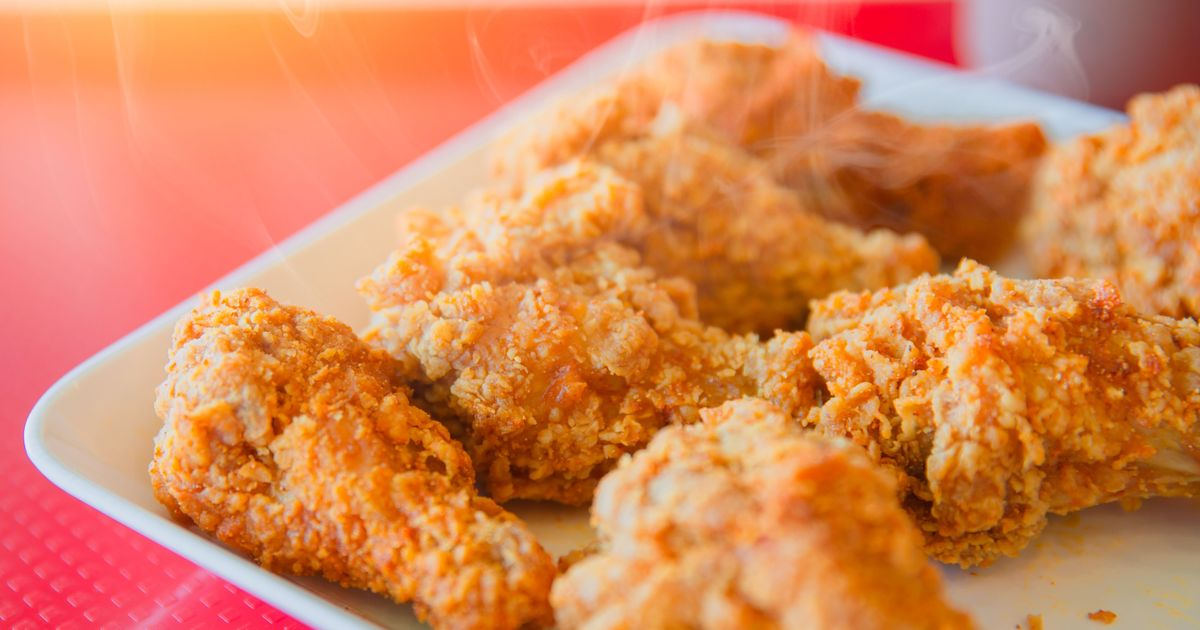 Фото Острые куриные крылышки а-ля KFC