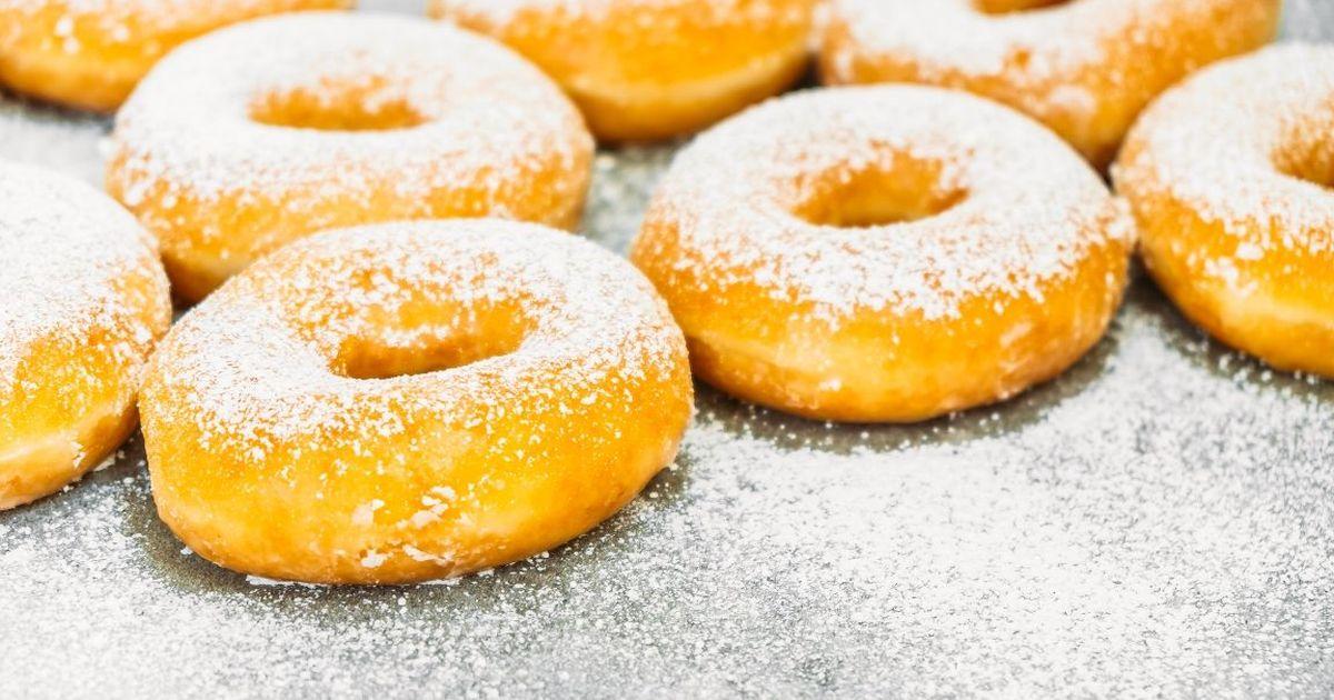 Фото Воздушные пончики на кефире