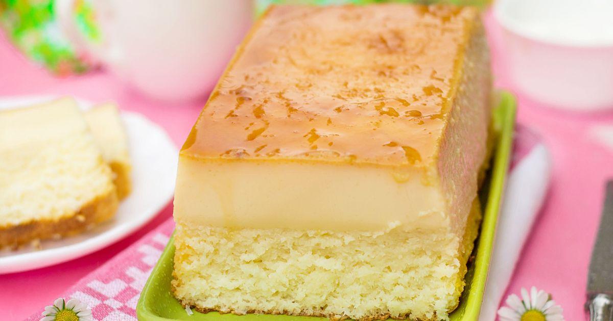 Фото Волшебное кокосовое пирожное