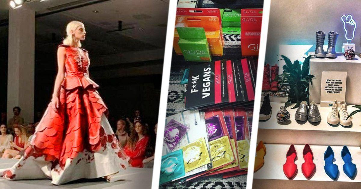 Фото Био-контрацептивы: странности первой веганской недели моды