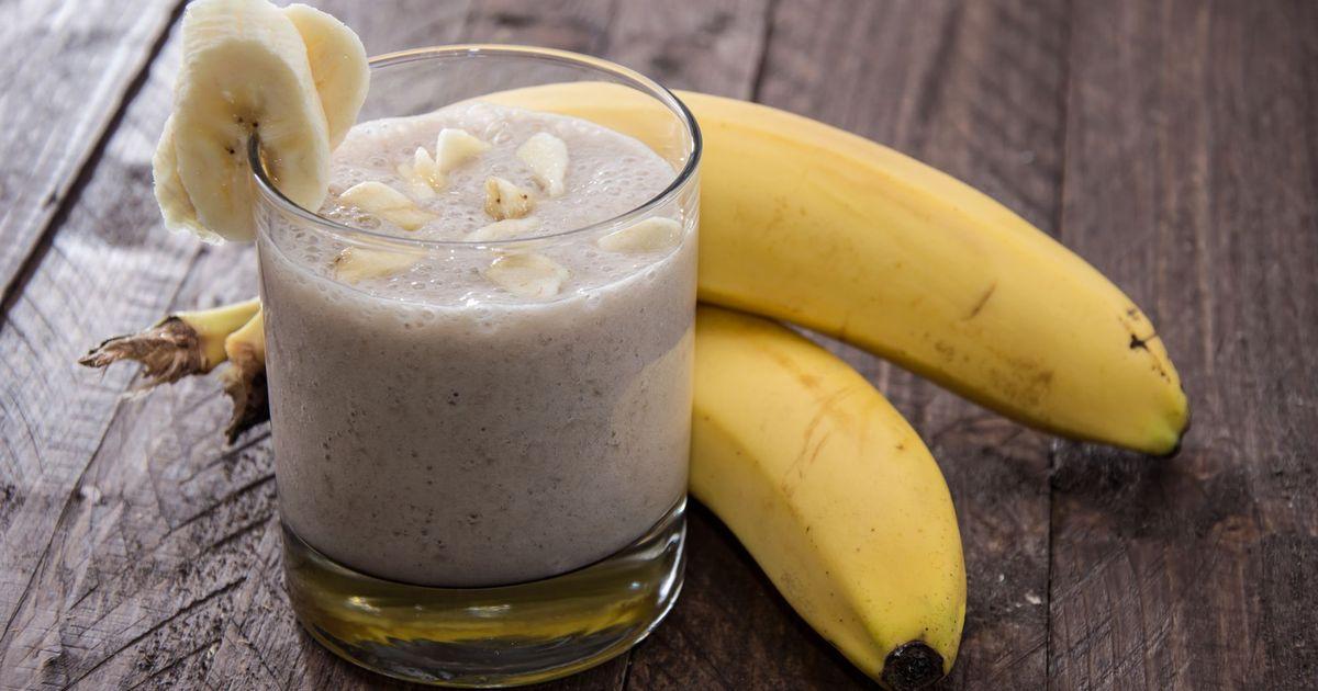 Фото Банановый шейк