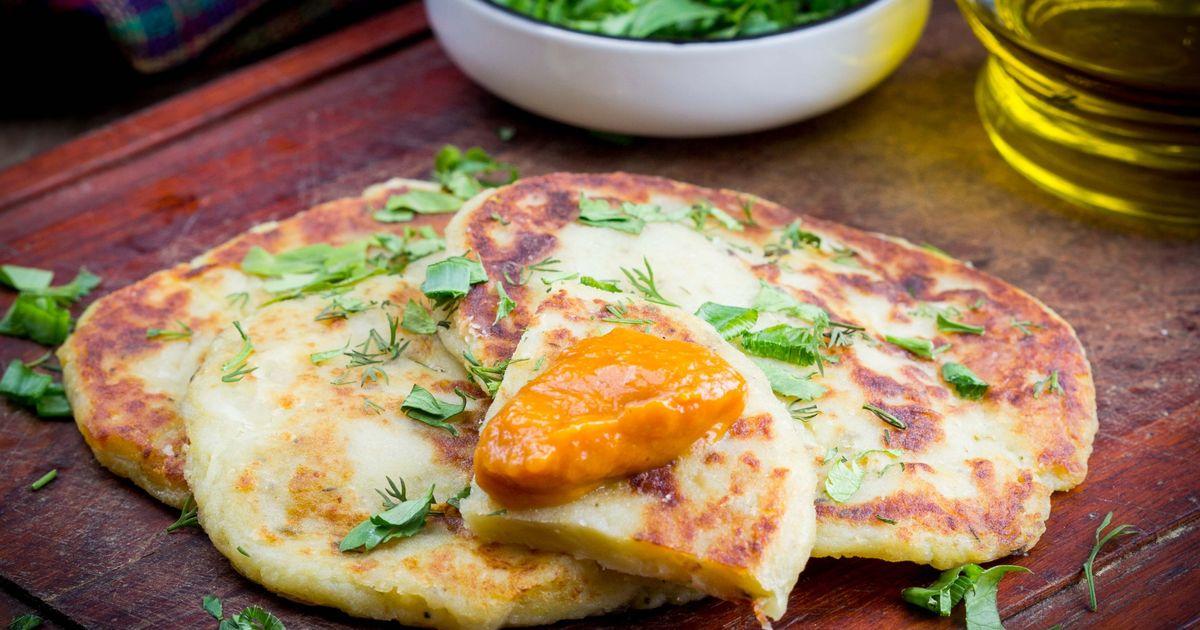 Фото Картофельные лепешки на сковороде – быстро и вкусно!