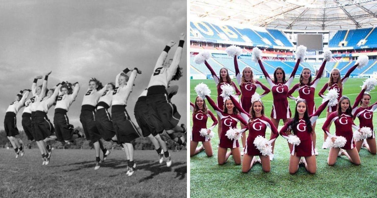Фото Чирлидинг: как менялся этот странный спорт с помпонами и прыжками?