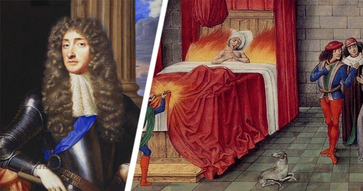 Фото Удар о дверной косяк и горящая нитка: глупые смерти великих королей
