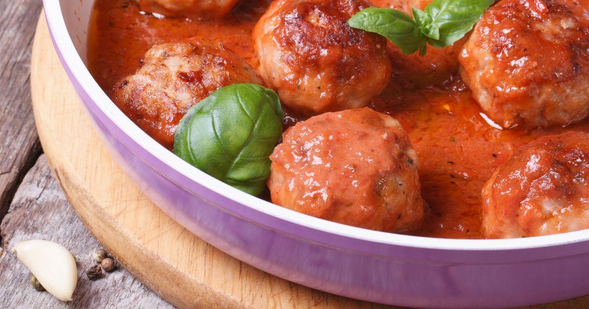 Фото Тефтели в томатном соусе