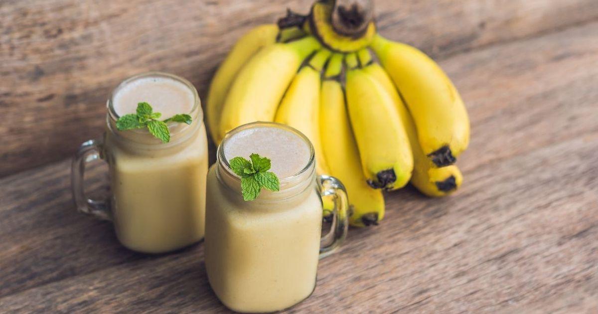 Фото Рецепт приготовления смузи из груши и банана