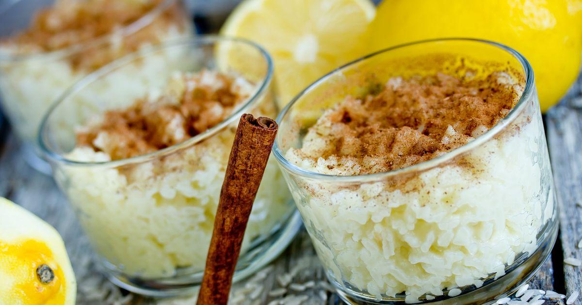 Фото Португальский рисовый пудинг