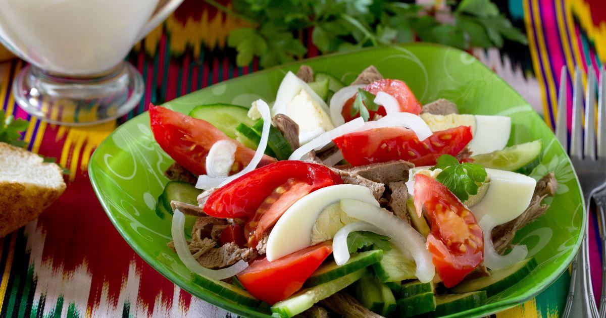 Фото Узбекский салат