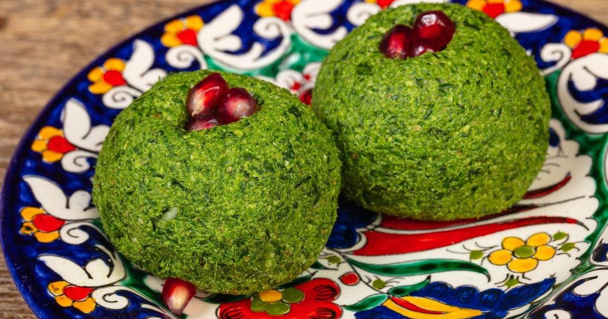 Фото Рецепт приготовления пхали из шпината