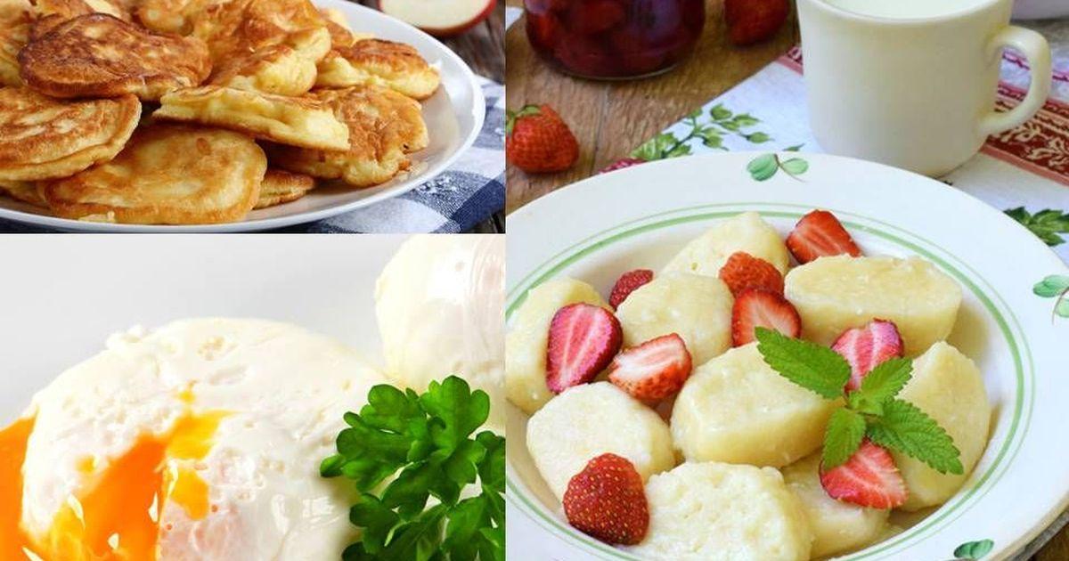 Фото 3 рецепта вкусных завтраков