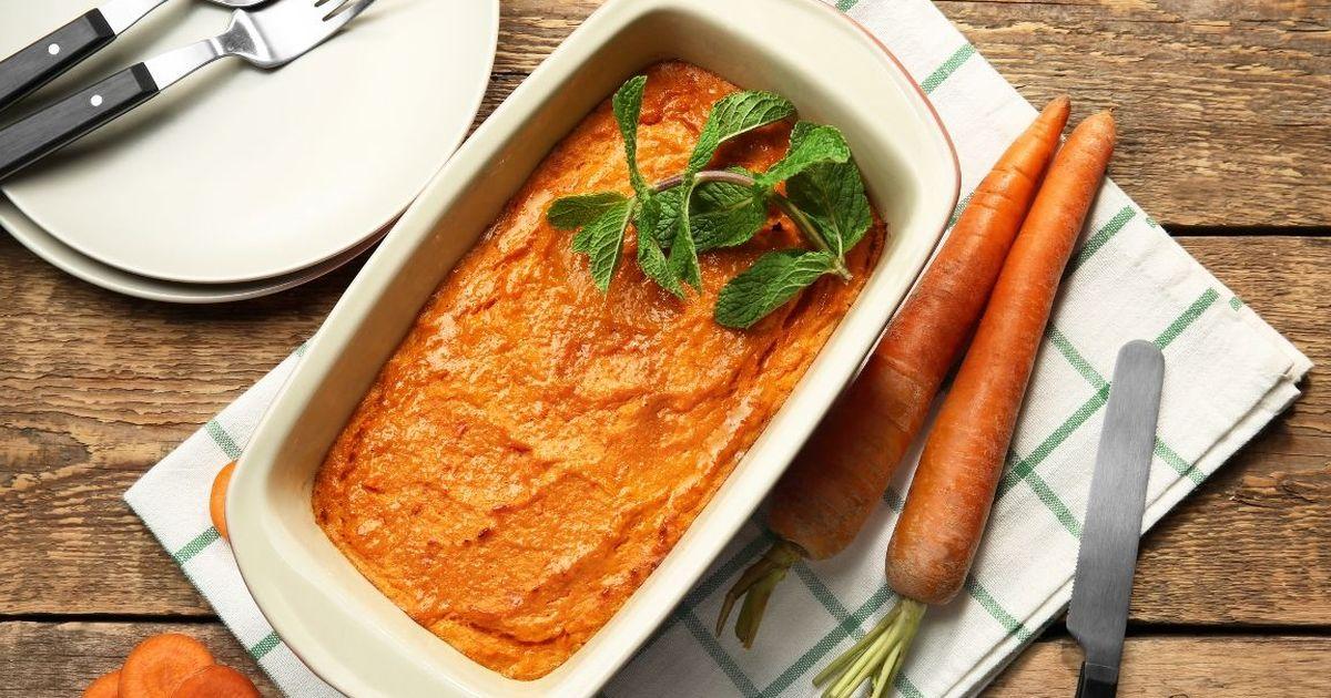 Фото Вкуснейшее морковное суфле
