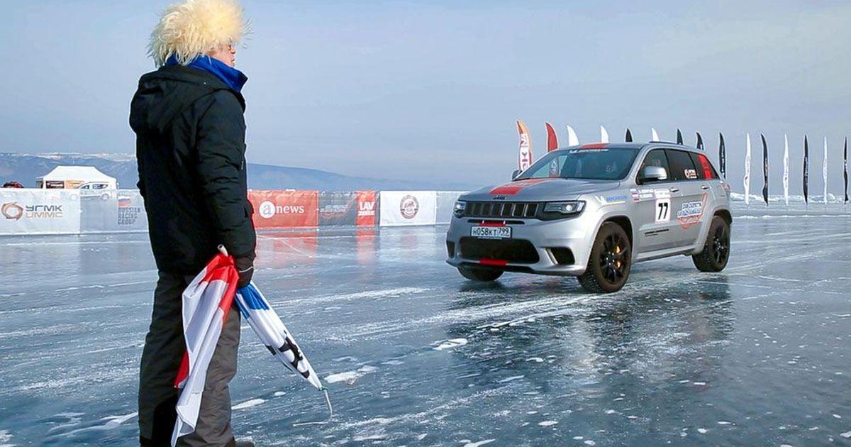 Фото Установлены новые рекорды на гонках по льду Байкала. Как это было?