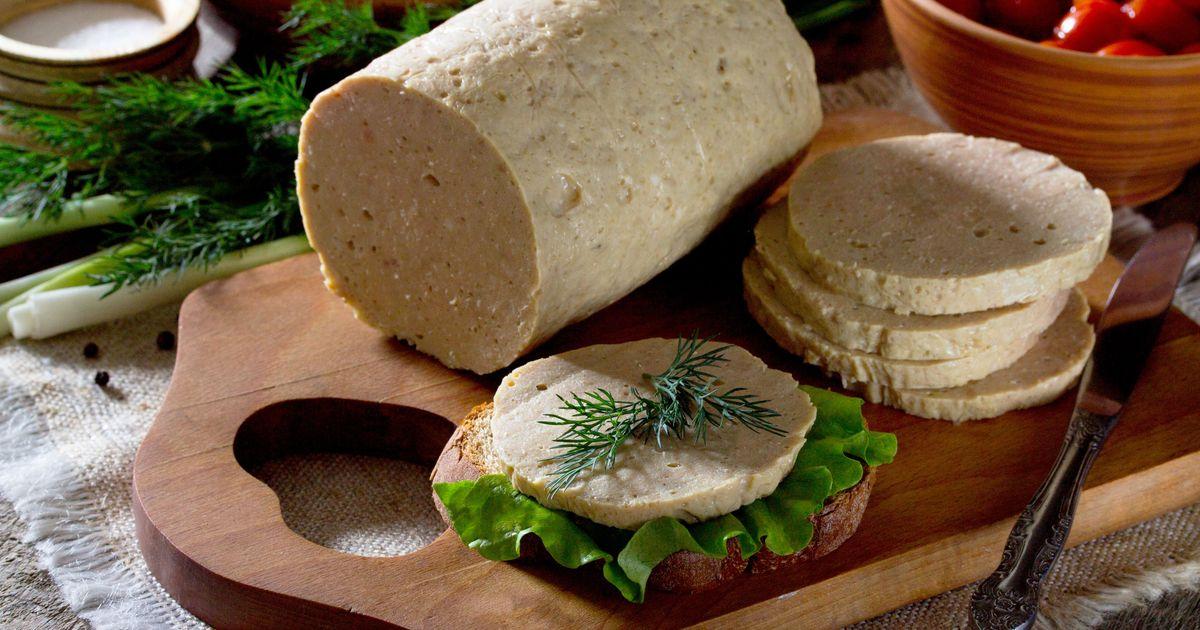 Фото Домашняя колбаса из куриного филе