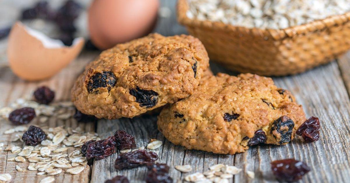 Фото Вкусный рецепт домашнего овсяного печенья