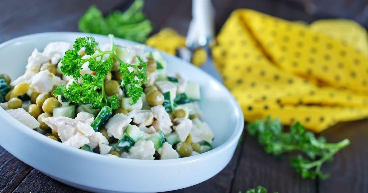 Фото Лёгкий белковый салат