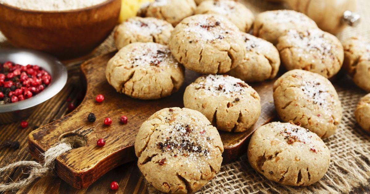 Фото Овсяное печенье с сыром