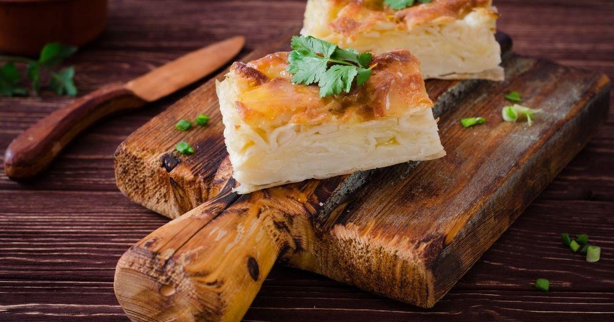 Фото Домашняя ачма с сыром и творогом