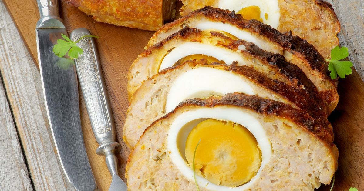 Фото Мясной рулет с яйцом
