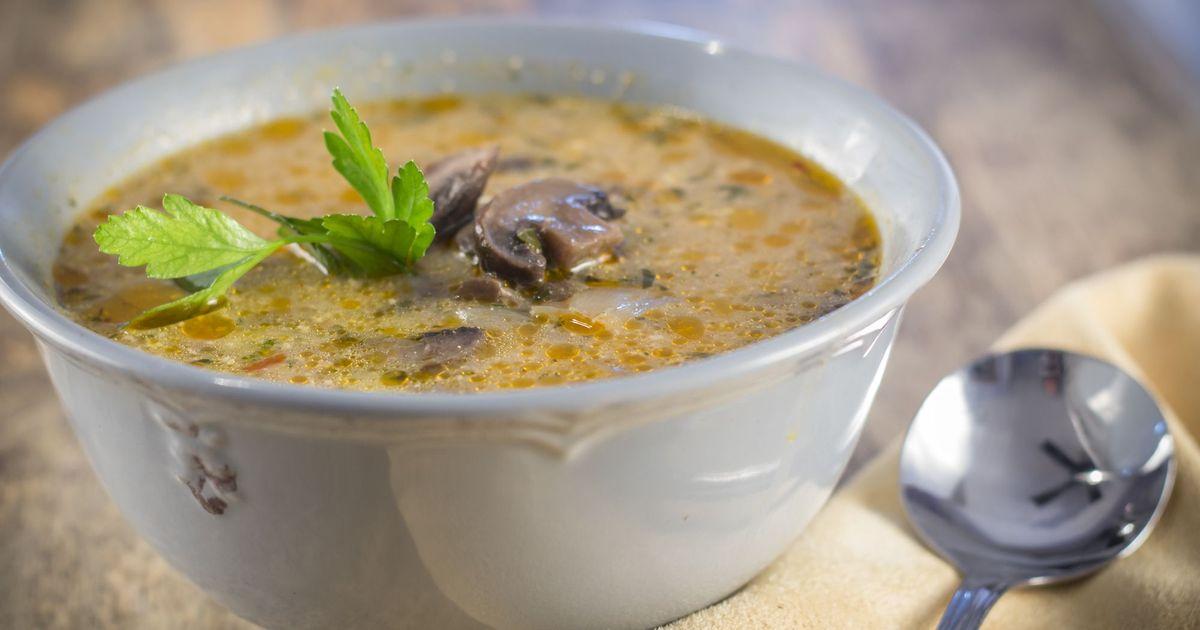Фото Суп с грибами по-венгерски