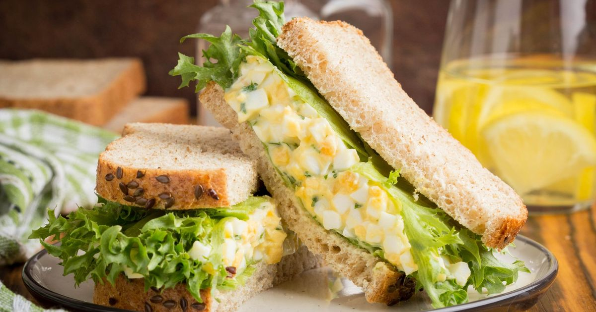Фото Яично-горчичный салат