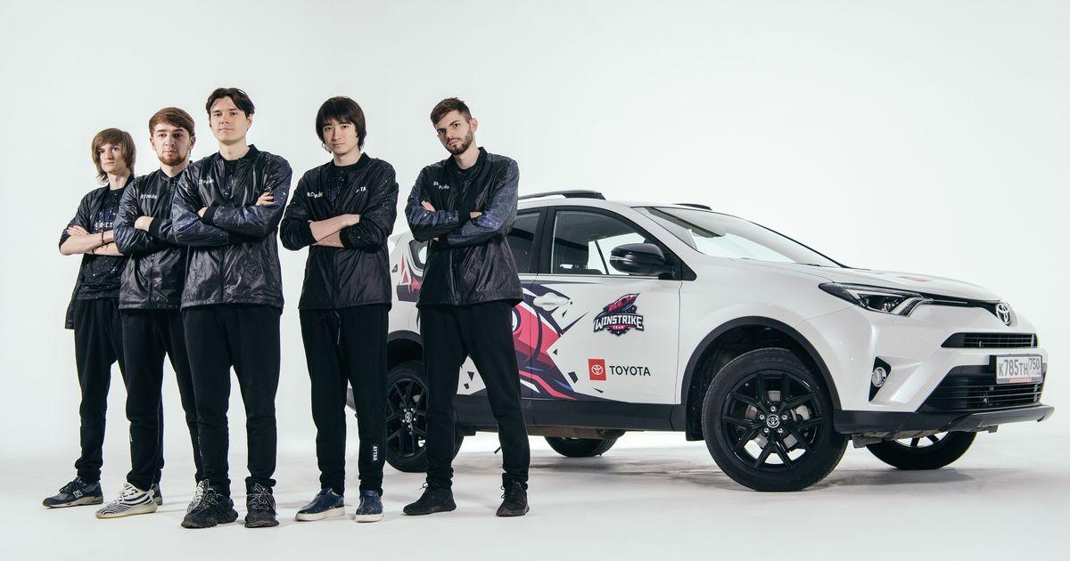 Фото Toyota – первый в России автобренд, ставший партнером киберспортивной команды