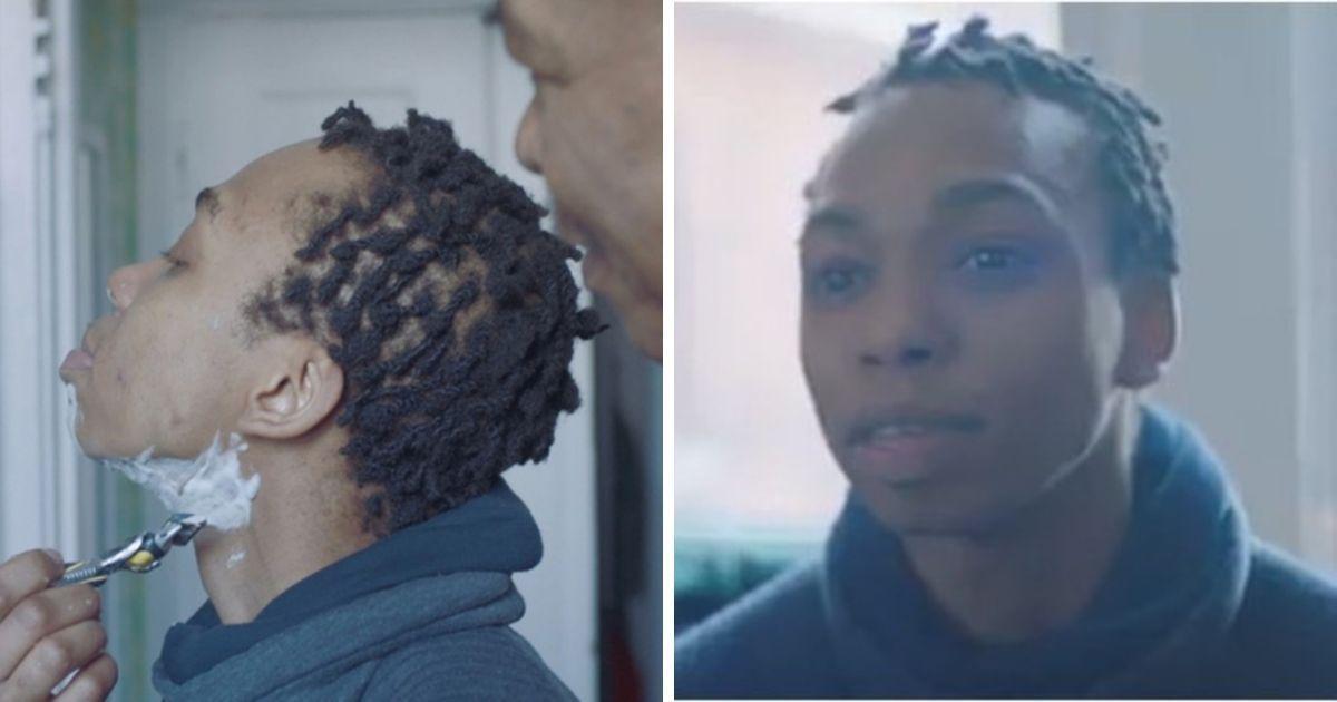 Фото Gillette сняла ролик, где отец помогает побриться сыну, сменившему пол