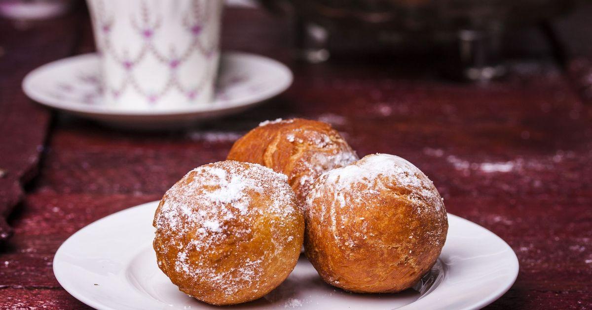 Фото Творожные пончики