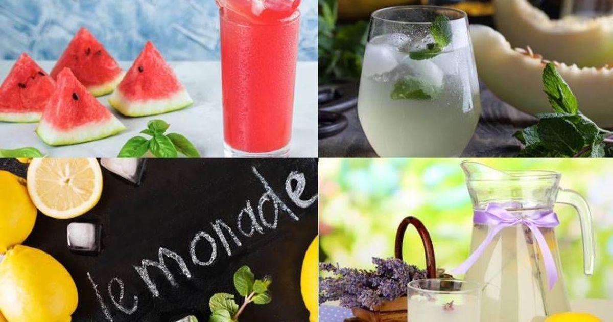 Фото 3 удачных рецепта летних лимонадов