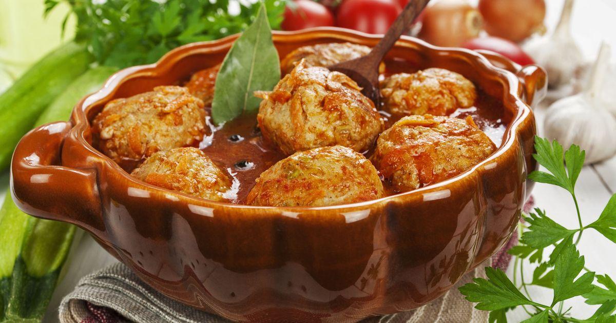 Фото Фрикадельки в томатном соусе