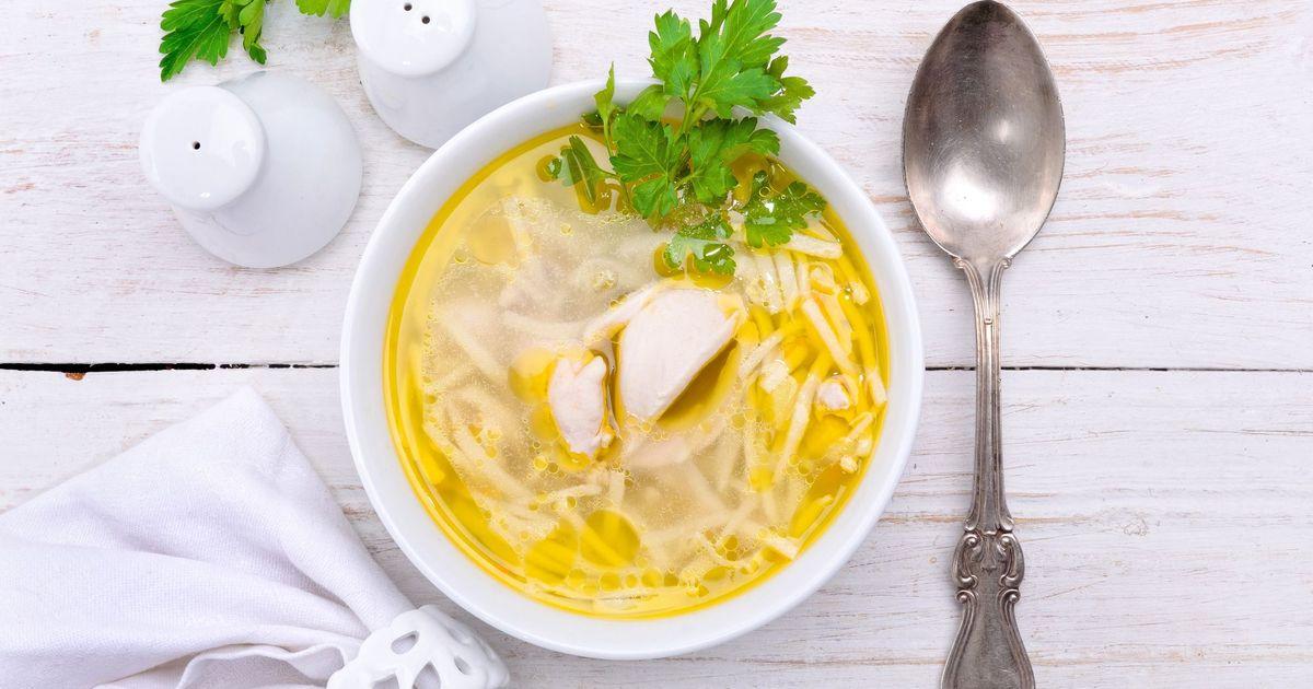 Фото Суп с лапшой и курицей