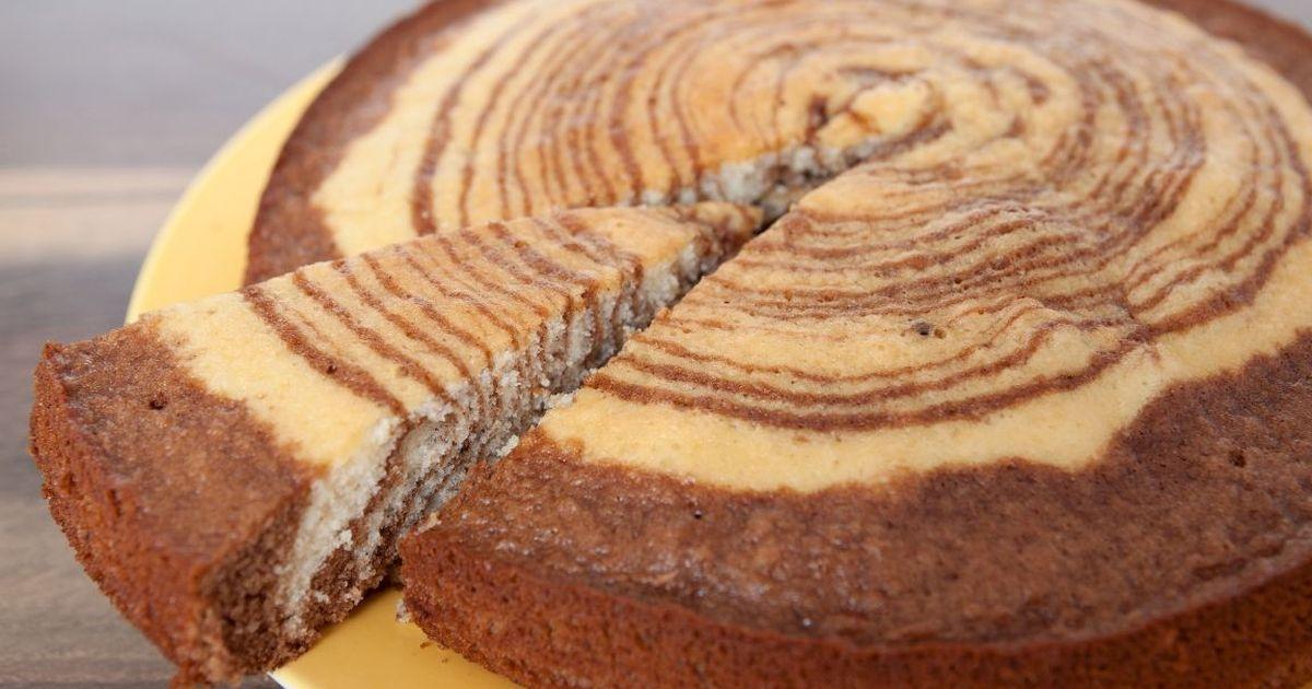 Фото Яркий и необычный пирог